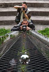 Die Kugelfotografen im Einsatz!