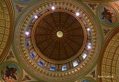 Die Kuppel der Basilique-Cathedrale Marie-Reine-du-Monde