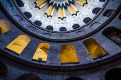 Die Kuppel der Grabeskirche - Jerusalem, Israel