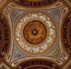Die Kuppel der Isaakskathedrale