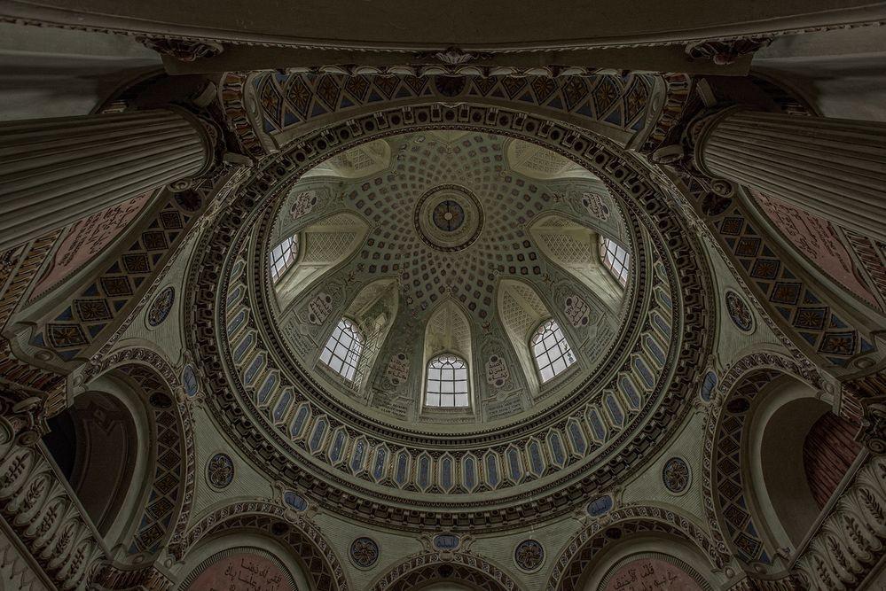 die Kuppel der Moschee