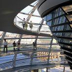 Die Kuppel im Berliner Reichstag