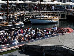 Die kuschelige Bootsfahrt, Nyhavn