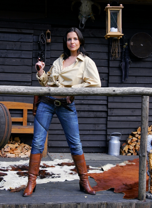 Die Lady Mit Dem Colt