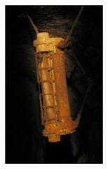 Die Lampe on the way into the darkness (ohne Teelicht)