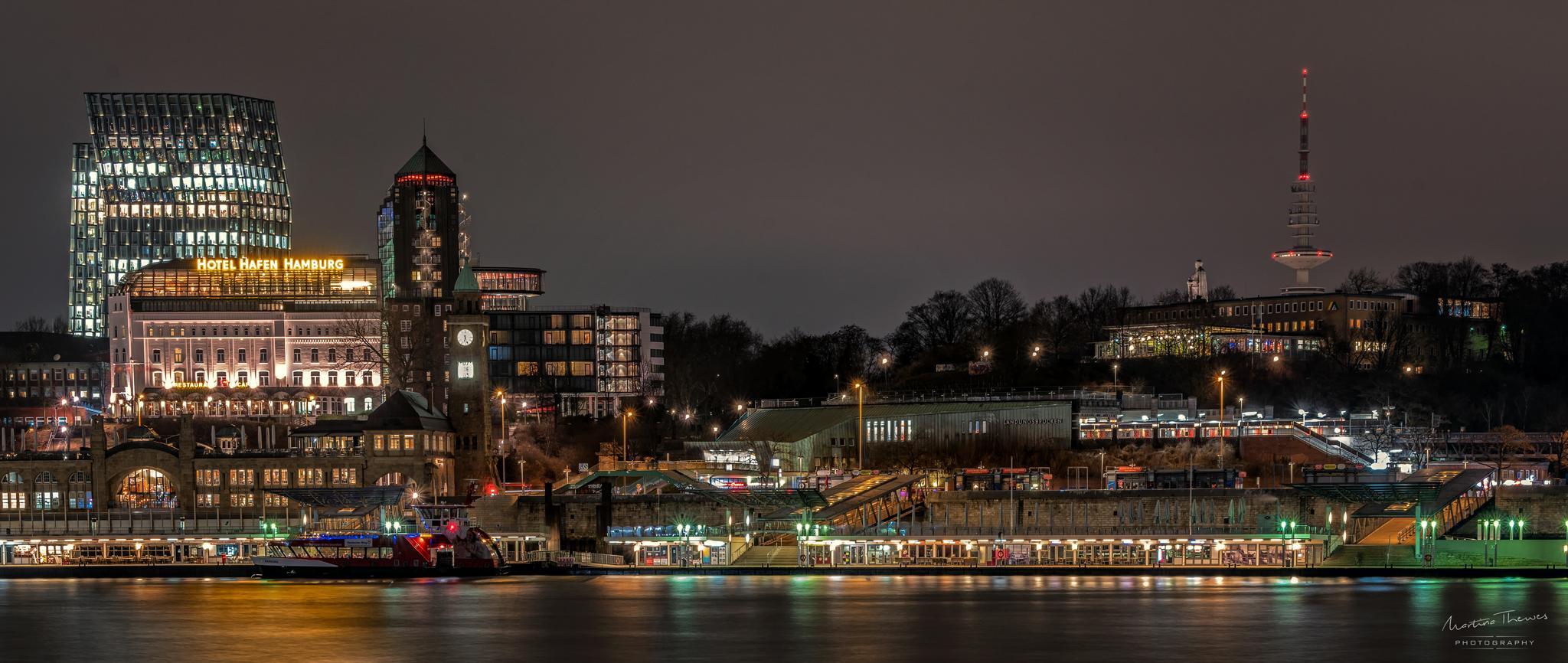 die Landungsbrücken von St.Pauli