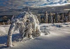 die last des winters