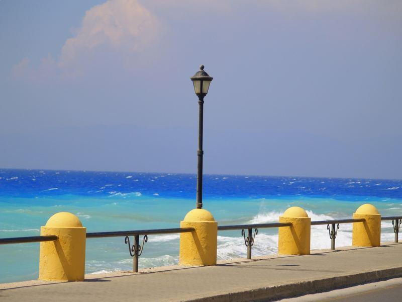 Die Laterne und das Meer