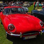 Die Legende lebt  -  Jaguar E in rot