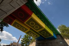 die Lego-Brücke...