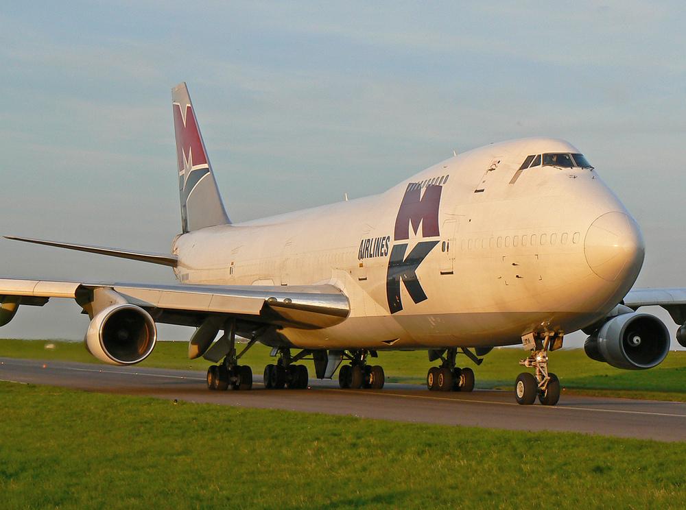 die letzte 747 des Tages
