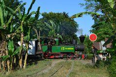 Die letzte Anno 2014 betriebsfähige Mallet in Indonesien