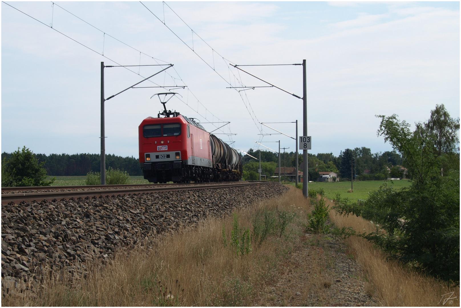 Die letzte Schöpfung der Deutschen Reichsbahn...