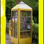 Die letzte Telefonzelle im Ort