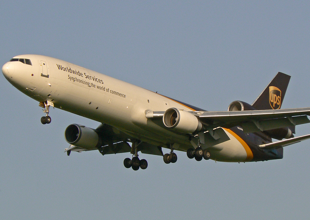 die letzte UPS MD-11F.......