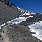 Die letzte Wegstrecke zum Thorong La in 5200m Höhe