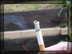 * die letzte Zigarette *
