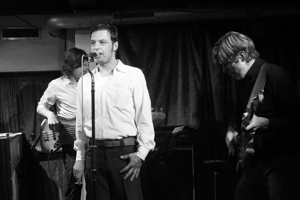 die letzte Zugabe des Ralf Groher Quintetts - (der Jazzsänger mit Zigarette)
