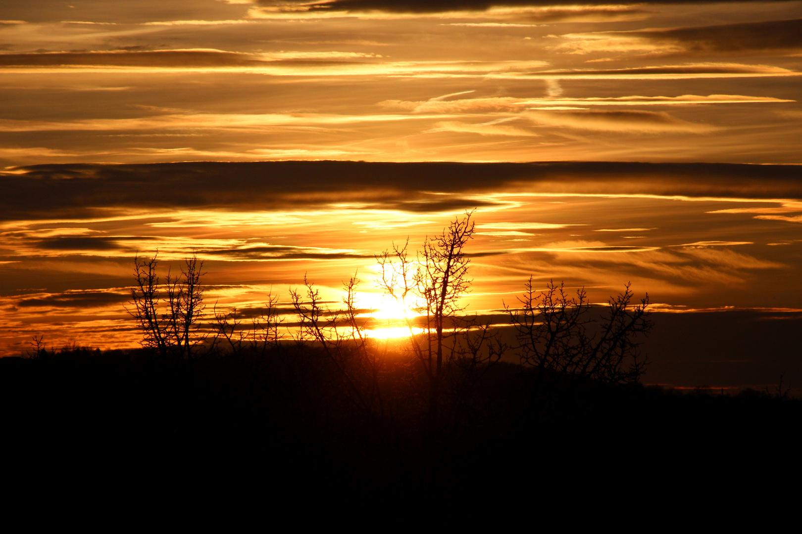 die letzten Sonnenstrahlen 2012