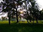 Die letzten Sonnenstrahlen im Sommer
