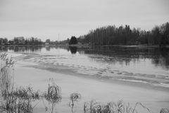 Die letzten Spuren des Winters...