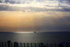 Die letzten Strahlen der afrikanischen Sonne