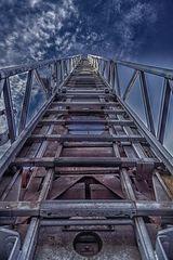 Die letzten Stufen...