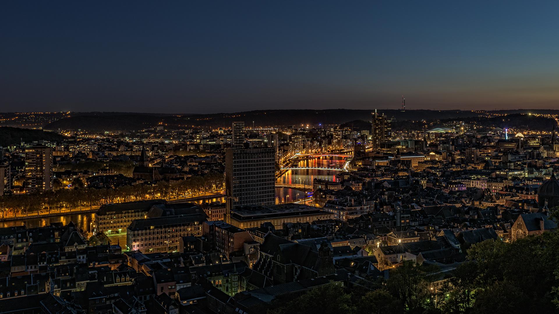 die Lichter von Liège...