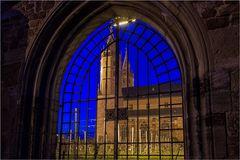 Die Liebfrauenkirche nachts