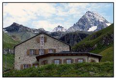 Die Lucknerhütte am Großglockner