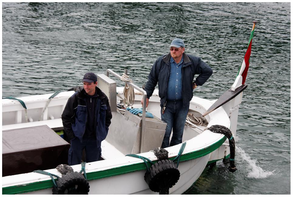 Die Männer der Börteboote...