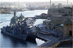 Die maltesische Kriegsflotte