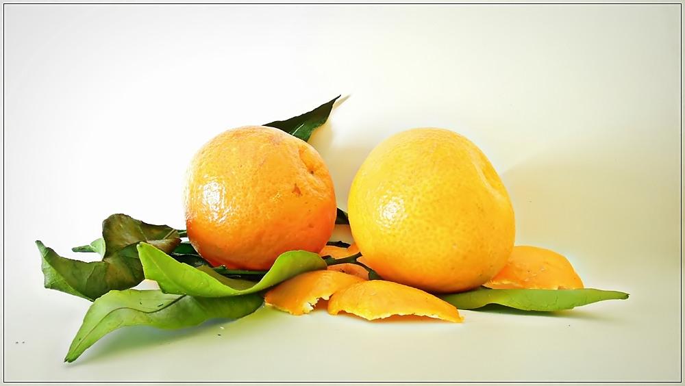 Die Mandarine ...