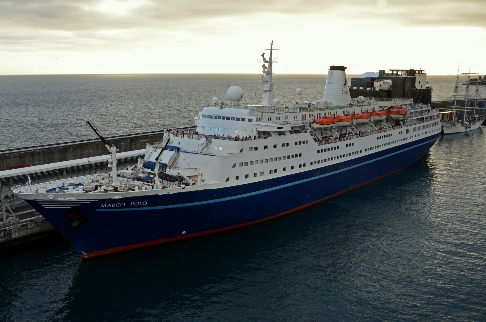Die Marco Polo in Funchal/ Madeira