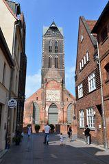 Die Marienkirche im Zentrum von Wismar