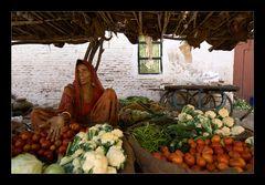 Die Marktfrau