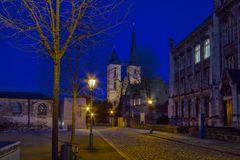 Die Martinikirche in Halberstadt