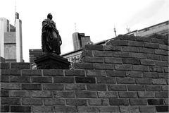 Die Mauer, die Banken und Goethe