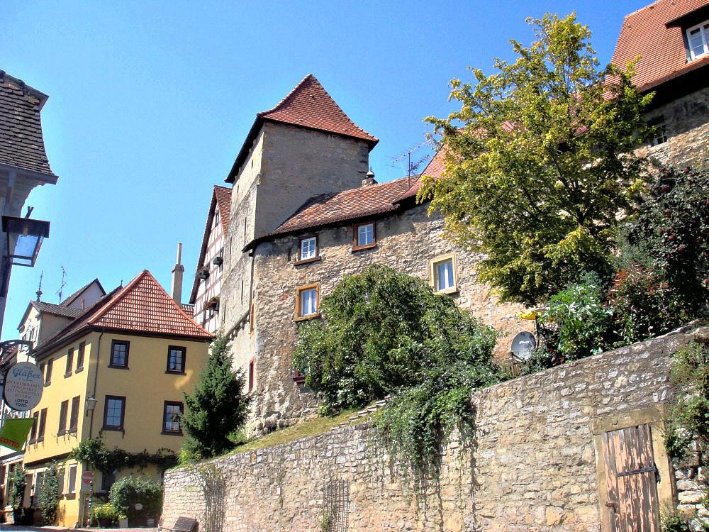 die Mauern von Bad Wimpfen