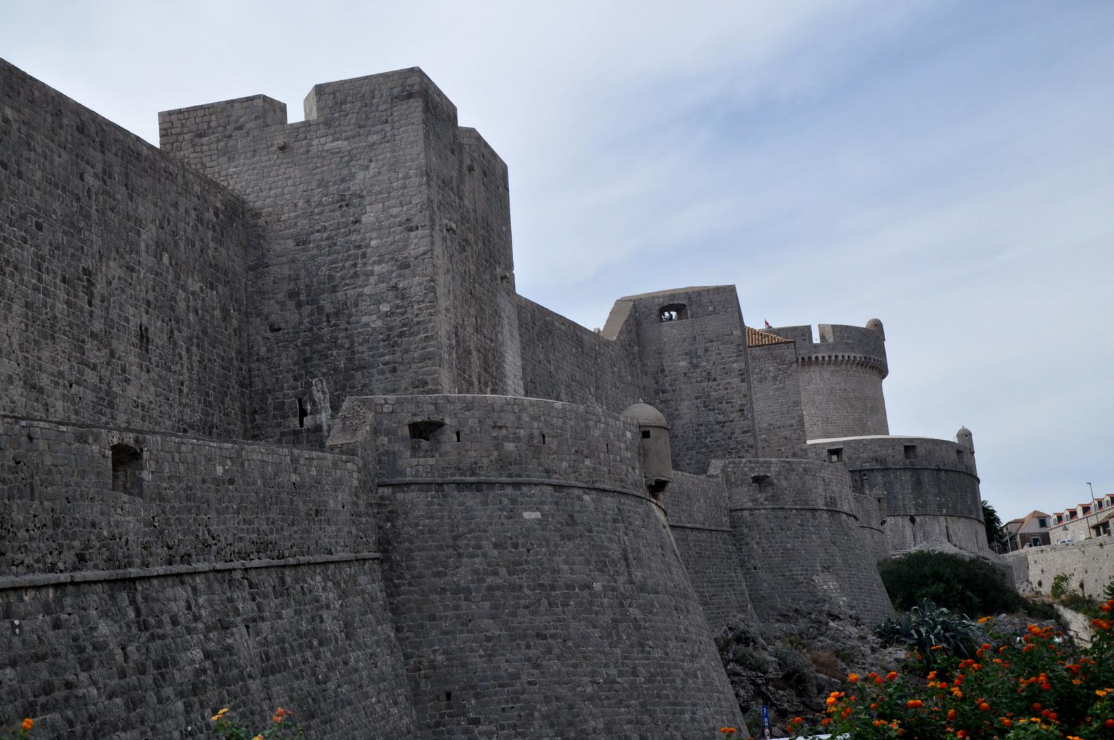 Die Mauern von Dubrovnik