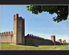 Die Mauern von Montagnana
