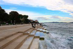 Die Meeresorgel von Zadar