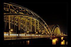 Die Messingbrücke von Köln...