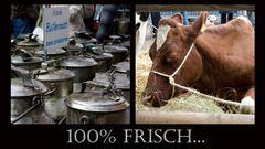 Die Milch macht's....