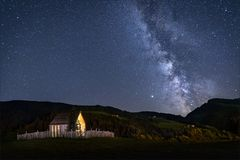 Die Milchstraße..
