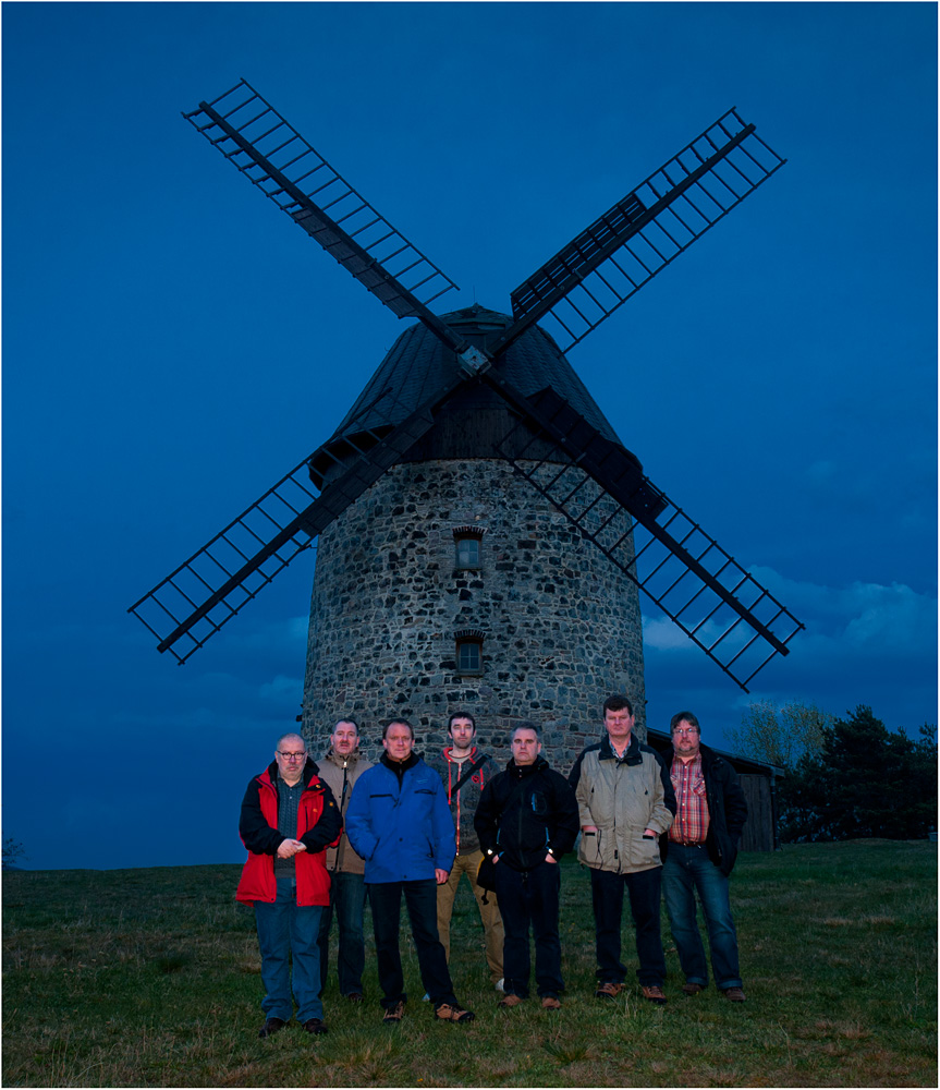Die mit der Mühle