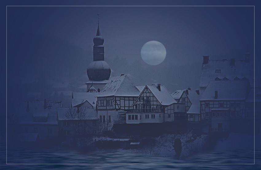Die Mitte der Nacht ...