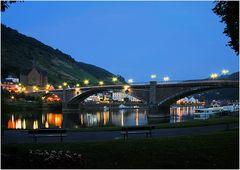 Die Moselbrücke in Cochem