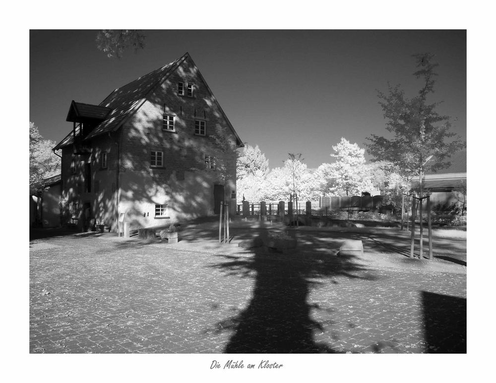 Die Mühle am Kloster