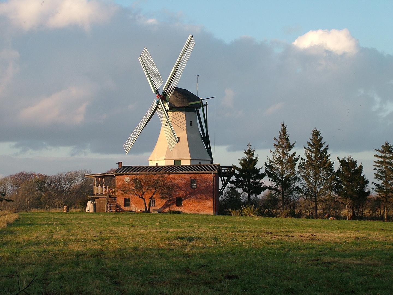 Die Mühle Fortuna in Unewatt
